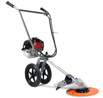 43cc Gasoline Grass Trimmer with Wheels, Brush Cutter