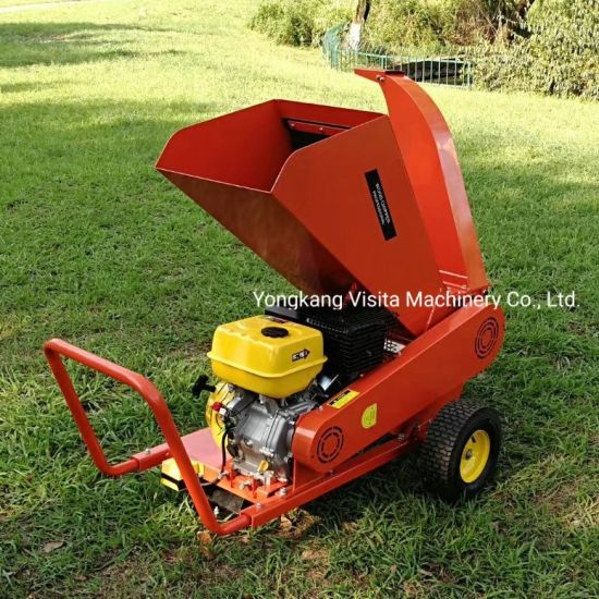 15HP Gasoline Wood Chipper Shredder