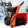 "375cc (13HP) 28"" Snow Engine Chain Drive 2stage Snow Thrower"