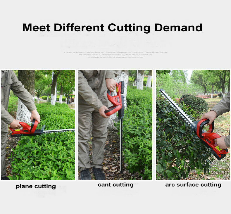 20V Cordless Lithium Battery Hedge Trimmer