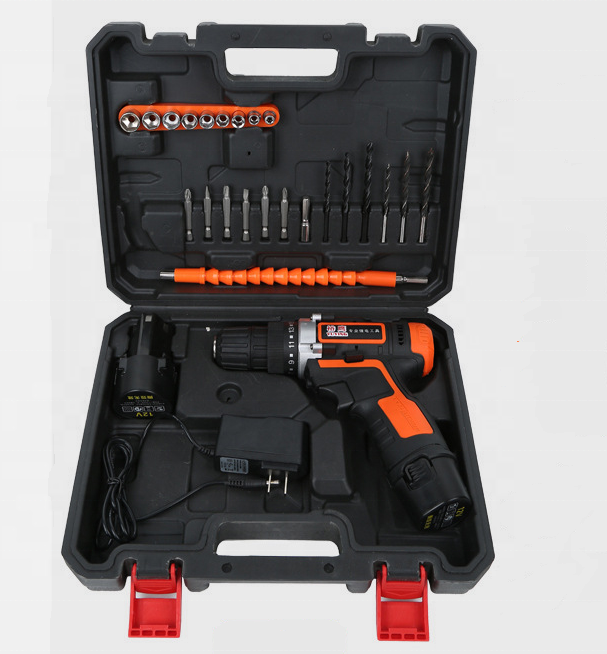 Lithium Cordless Drill Hand Tool Combo Kit