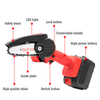 "4"" Mini Cordless Battery Chainsaw"